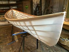 Explorations in skin-on-frame boat building and kayak design - Wooden boat building - Wooden Boat Building, Boat Building Plans, Kayaks, Wood Boat Plans, Mobile Home Living, Kayak Boats, Mobile Home Decorating, Duck Boat, Hobbies For Women