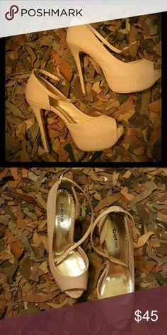 Shoes Light pink...neutral bebe Shoes Heels