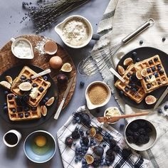 Hey, @_tamarapeterson, can we come over for brunch sometime? #SundayBrunch #mywestelm #Waffles2016