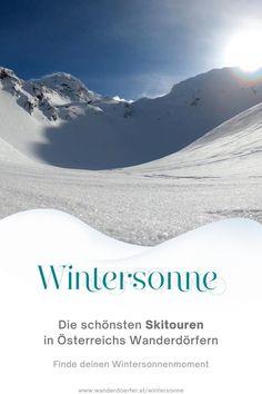 Entdecke die schönsten Skitouren, in den schönsten Winterdörfern Österreichs. Hast du auch schon Lust den Berg hinauf zu gehen und die erste Spur in den Neuschnee zu ziehen? Wir zeigen dir wos am schönsten ist und welche Touren du unbedingt gehen solltest