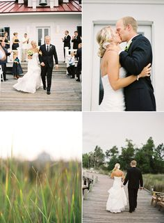 Outer banks lighthouse wedding.