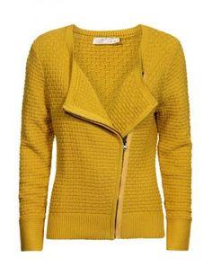 Okeren cardigan in grove tricot - Scandinavische vouwkunst - Specials - Dames
