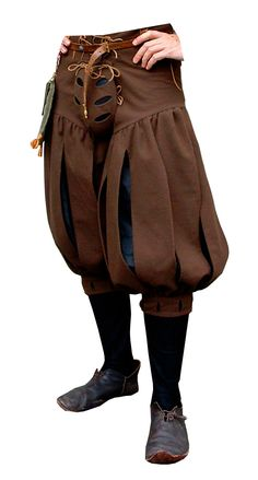 I would wear a codpiece…. Legwear MEDIEVAL DESIGN – Men's style, accessories, mens fashion trends 2020 Mode Renaissance, Costume Renaissance, Medieval Costume, Renaissance Fashion, Renaissance Clothing, Steampunk Clothing, Medieval Pants, Medieval Gown, Italian Renaissance