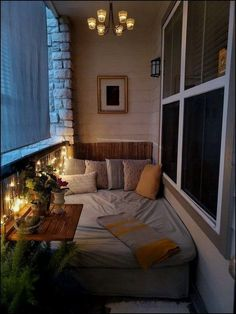 awesome Trendy Winter Balcony Decor Ideas That Will Bring Warmth House With Balcony, Small Balcony Decor, Small Balcony Design, Tiny Balcony, Balcony Ideas, Apartment Balcony Decorating, Apartment Balconies, Apartments Decorating, Winter Balcony