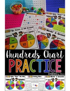 Reviewing the hundreds chart can be fun for students! These are games my second graders love to play at the beginning of the year, but first graders would enjoy them, too!