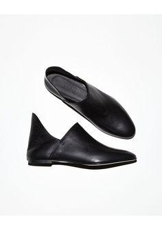 Damir Doma - Men's Freya Black Slippers: