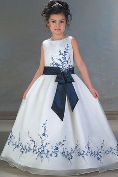 Cheap satin flower girl dresses, Buy Quality flower girl dresses directly from China flower girl dress 2016 Suppliers: A-Line Round-neck Floor- Length Satin Flower girls Dress 2016 Style Sleeveless Zipper Organza Satin Gowns Flower Girls, White Flower Girl Dresses, Girls Dresses, Dresses 2014, Wedding Party Dresses, Bridesmaid Dresses, Blue Bridesmaids, Bridal Dresses, Organza Flowers