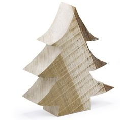 Tannenbaum holz impression shabby vintage weihnachten deko - Dekobaum aus holz ...