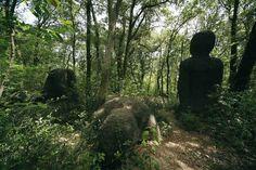 """""""Le tre pietre"""" by Olavi Lanu, 1985_Collezione Gori - Fattoria di Celle, Santomato (Pistoia), IT"""