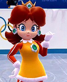 Ladies and gentlemen, Princess Daisy of Sarasaland ! Super Mario Princess, Nintendo Princess, My Princess, Mario Bros., Mario And Luigi, Mario Kart, Marvel Cartoon Movies, Luigi And Daisy, Super Mario Run