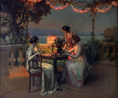 Delphin Enjolras | Can't find the title of this painting! :( - Delphin Enjolras