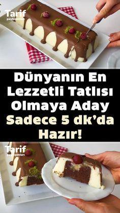 Good Food, Yummy Food, Pudding, Mini Cheesecakes, Christmas Sweets, Turkish Recipes, No Bake Cake, Delish, Food And Drink