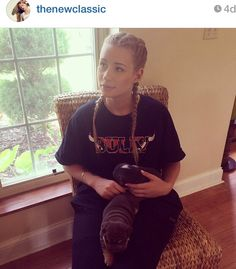 Iggy Azalea's cute hair braid