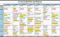 1200-1499 Calories VEGETARIAN (no fish); 4 Red, 3 Green, 2 Purple, 2 Yellow, 1 Orange, 1 Blue, 2 tsp. 21 day fix ...