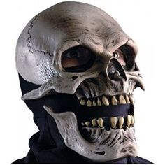 Death Reaper Skeleton Scary Skull Horror Latex Adult Halloween Costume Mask ** Learn more by visiting the image link. Scary Halloween Masks, Unique Halloween Costumes, Scary Mask, Adult Halloween, Skeleton Costumes, Halloween 2020, Funny Halloween, Halloween Ideas, Carnival