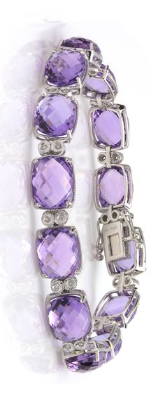 In Need Of Jewelry Information? Read On – Modern Jewelry Purple Love, All Things Purple, Shades Of Purple, Pink Purple, Purple Sparkle, Amethyst Bracelet, Amethyst Jewelry, Mauve, Purple Jewelry