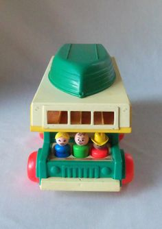 Vintage Fisher Price Play Family Camper Little by BeeHavenHome, $54.00