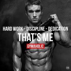 Hard work, discipline, dedication