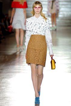 Miu Miu Spring 2012 Ready-to-Wear Fashion Show - Julia Nobis (Viva)