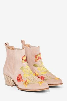 Intentionally Blank Sierra Suede Ankle Boot - Shoes   Boots + Booties   Festival Shop   Prints