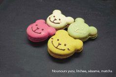 Ces petits macarons aux saveurs de l'Asie vous raviront !