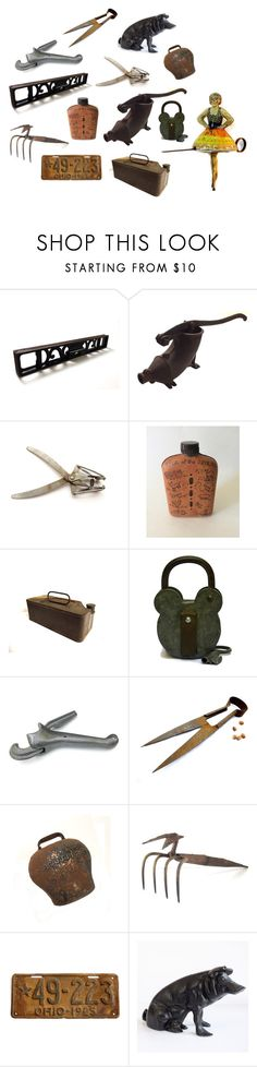 """Rusty Crusty Tin and Oink"" by patack ❤ liked on Polyvore featuring GAS Jeans, vintage, men's fashion and menswear"
