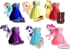 """My Little Ponies Dress and Shoes"" by dacey-jade on Polyvore"