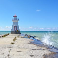 Bruce County is situated in Southwestern Ontario, nestled on the edge of Lake Huron, & is primarily known for its lovely coastal views & rugged escarpment. Toronto Travel, New York Travel, 7 Places, Places To Visit, Lac Huron, Nova Scotia Travel, Ontario Place, Huron County, Travel Oklahoma