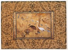 from AgaKhan museum. Painting Congregation of birds 1600 #spoonchallene #islamicart