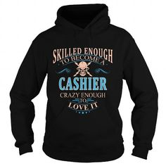 CASHIER T Shirts, Hoodies. Get it here ==► https://www.sunfrog.com/LifeStyle/CASHIER-107592067-Black-Hoodie.html?57074 $38.99