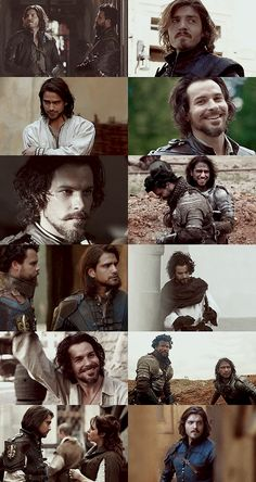 Musketeers Season 3 Roundup - part 4 (alright, I've lost track of which block we're filming and these seem to be completely out of order anyway) The Musketeers Tv Series, Bbc Musketeers, The Three Musketeers, Luke Pasqualino, Tom Burke, Bbc Drama, Charming Man, Thats The Way, Period Dramas