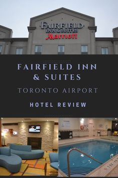 The Fairfield Inn & Suites Toronto Airport is newly renovated and conveniently located just 3 km from Pearson International Airport in Ontario, Canada. With 11 floors, 120 guest rooms and suites, the Fairfield boasts a 24-hour airport shuttle service, indoor pool with hot tub, and an onsite restaurant and bar.  #hotelreview #FairfieldInn #Marriott #Toronto #Travel #Accommodations Vancouver, Ottawa, Quebec, Hotels And Resorts, Best Hotels, Canada Destinations, Amazing Destinations, Toronto Airport, Airport Shuttle