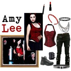 """""""Amy Lee inspired"""" by theunderdoggirl on Polyvore"""