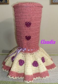Crochet Christmas Ornaments, Crochet Borders, Diy Crochet, Couture, Crochet Designs, Leg Warmers, Projects To Try, Diy Crafts, Sewing