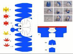 papercraft doraemon - ค้นหาด้วย Google