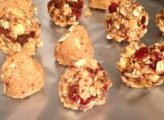 Try this healthy no bake  high protein power ball snack recipe from Angeles Burke.