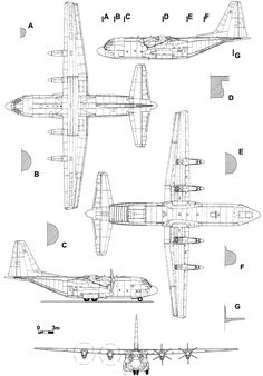 Lockheed C-130 Hercules blueprint C 130, Airplane Drawing, Airplane Art, Aviation Engineering, Aviation Art, Fighter Aircraft, Fighter Jets, C130 Hercules, Naval
