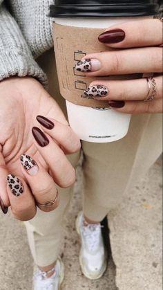 Stylish Nails, Trendy Nails, Acrylic Nail Designs, Nail Art Designs, Nails Design, Gel Nails, Acrylic Nails, Acrylic Art, Camouflage Nails