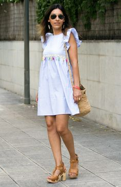 WELCOME HOLIDAYS! Welcome Holidays, Zara, White Dress, Dresses, Fashion, Colored Bangs, Sleeves, Vestidos, Moda