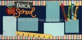 Back To School Scrapbook Page Kit