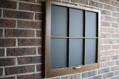 Old Window Chalkboard  open door treasures can do this for you! Find us on Facebook
