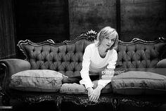 Photo d'actualité : Actress Sylvie Testud poses at a portrait session...