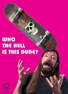 New Skate Decks Available Now at shop.six3collective.com #skateboards #horror #heavymetal #advertising #deckart #skateordie #viking #barbarian #helmet #skulls