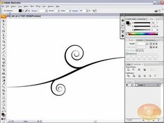Vector Swirls, Swooshes, and Florals: Illustrator Tutorial