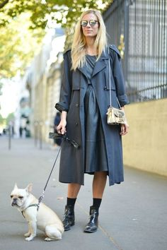 Chic gray dress  | For more style inspiration visit 40plusstyle.com