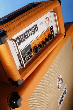 Orange OR15. I own one of these but still need to get a cabinet for it. 15 watts, but I had the chance to turn the volume all the way up before I bought it...loudest amp I've played through.