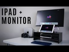 I tried hooking up my iPad Pro to an external monitor to see how effective it'd be as my full-time work station. I test word processing, video editing, photo. Ipad Monitor, Desk Setup, Apple Products, Video Editing, Ipad Pro, Writing, Youtube, Notes, College
