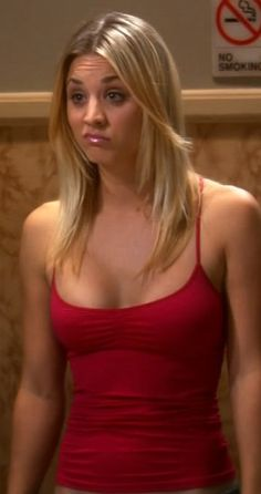 Kaley Cuoco and the infamous the penny-look