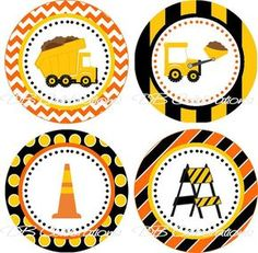 Trendy Trucks And Cars Birthday Party Cupcake Toppers 39 Ideas Construction Birthday Parties, Cars Birthday Parties, Construction Party, Boy Birthday, Construction Cupcakes, Cupcake Toppers, Dump Truck Party, Dump Trucks, Monster Truck Birthday