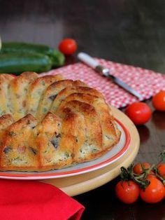 CIAMBELLA QUARESIMALE SALATA ricetta torta con verdure